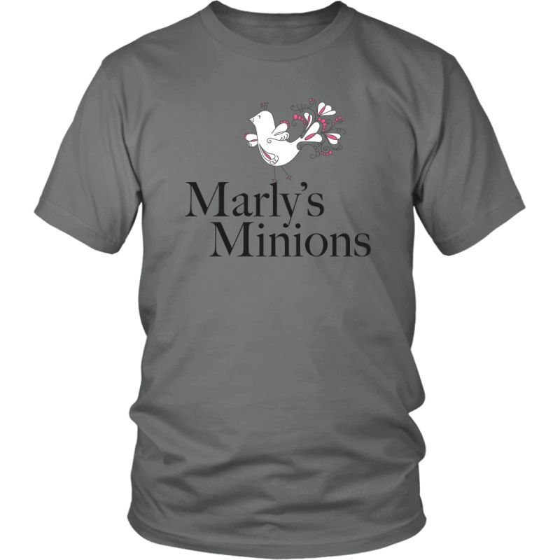 Marly's Minions Shirt District Unisex / Grey S T-Shirt