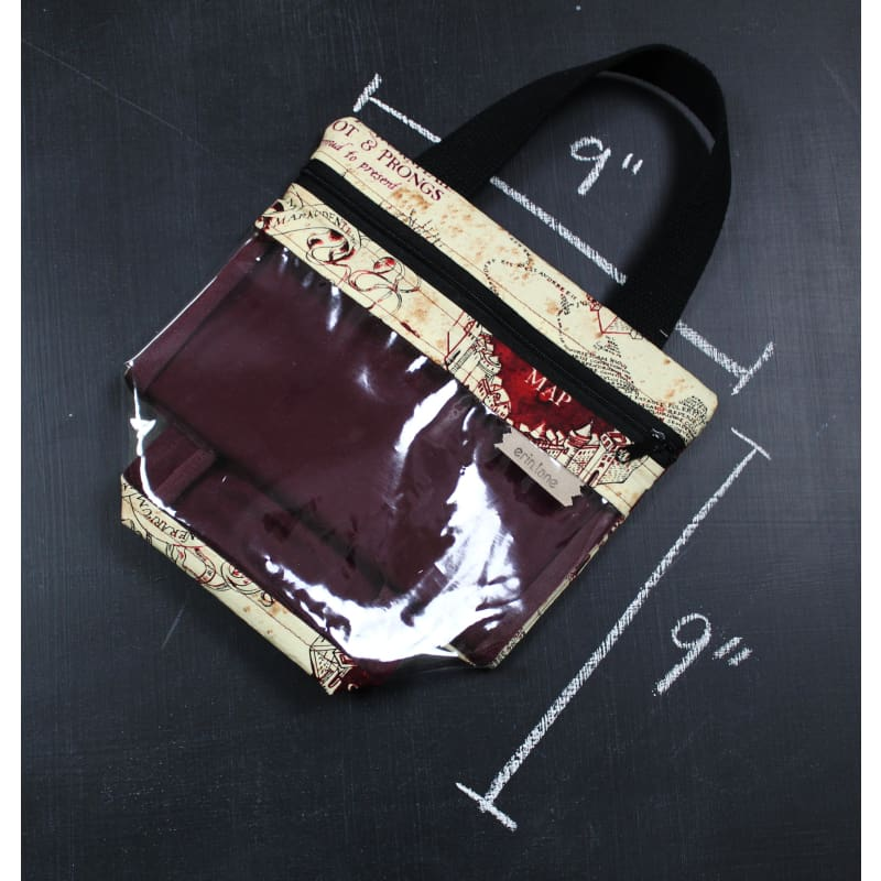 Mini View Tote Bag In Marauders Map Tote