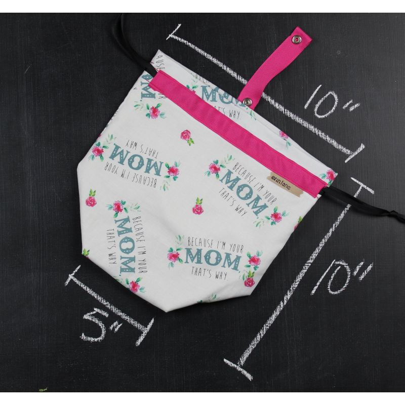 Sock Project Bag in I am Your Mom