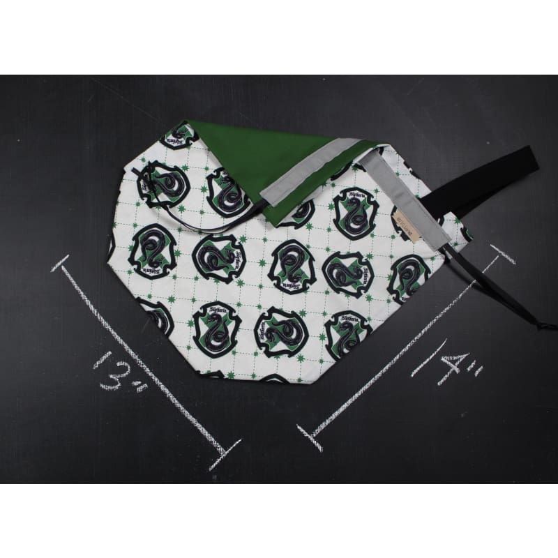 Sweater Project Bag In Slytherin Crest Project Bag