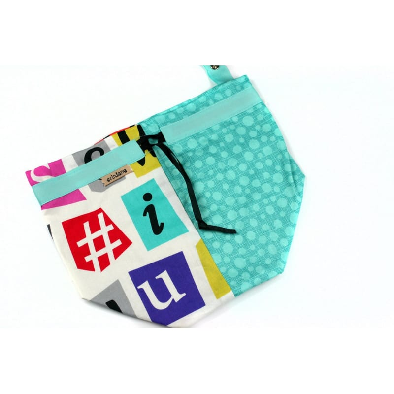 Twofer Project Bag In Ransom Letters