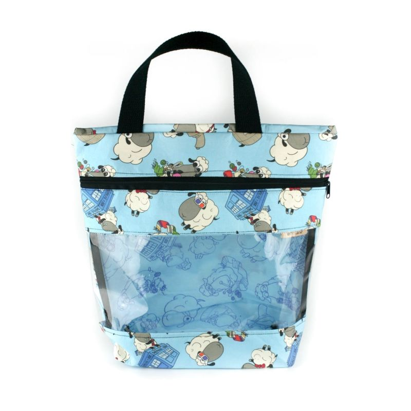 View-Ewe Tote Bag In Dr Who Sheeple