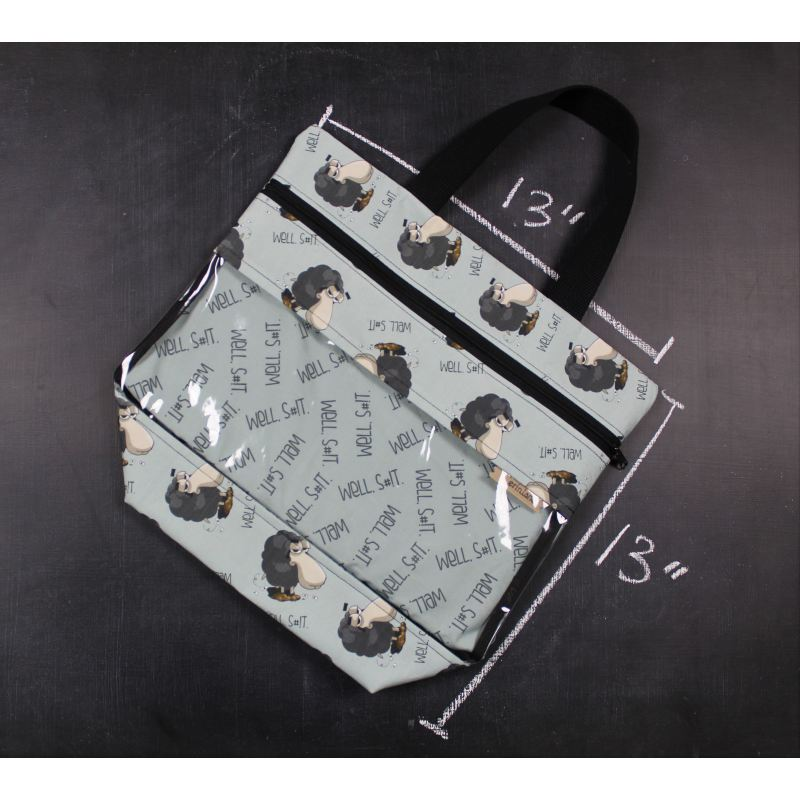 View Ewe Tote Bag In Well S#!t. Tote