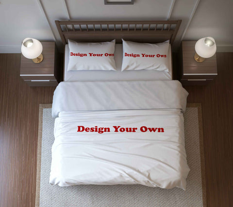 Design Your Own Custom Duvet Cover or Comforter Set - Designs by Dee's Hands