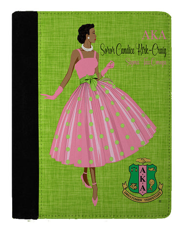 Ms. AKA Personalized Padfolio Notebook - Designs by Dee's Hands  - 1