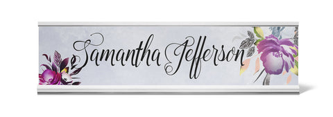 Inka Personalized Desk Name Plate - Holder not included see link in description where to buy - Designs by Dee's Hands  - 1