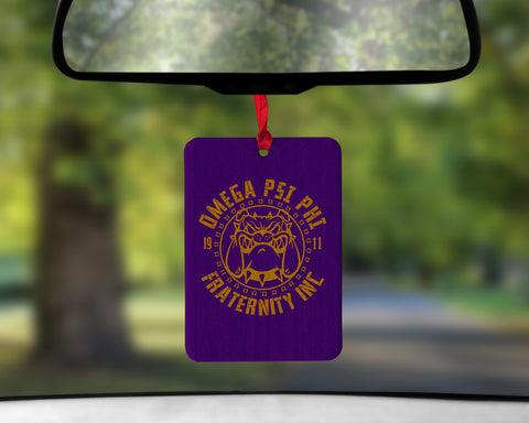 RQQ! Omega Psi Phi Air Freshener - Add your own essential oils