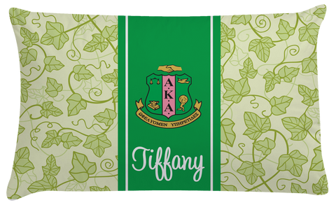 Sorority Duvet Cover or Comforter Set - Personalized Alpha Kappa Alpha Sorority, AKA - Designs by Dee's Hands  - 2