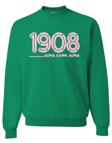 AKA - 1908 Alpha Kappa Alpha Inlines - Designs by Dee's Hands