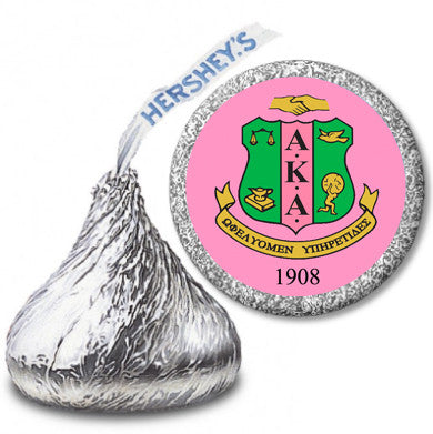 AKA Hershey Kisses labels - 108 labels per sheet - Designs by Dee's Hands