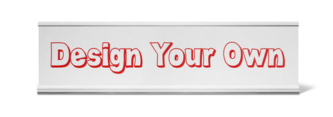 Design Your Own Desk Name Plate - Holder not included see link in description where to buy - Designs by Dee's Hands  - 1
