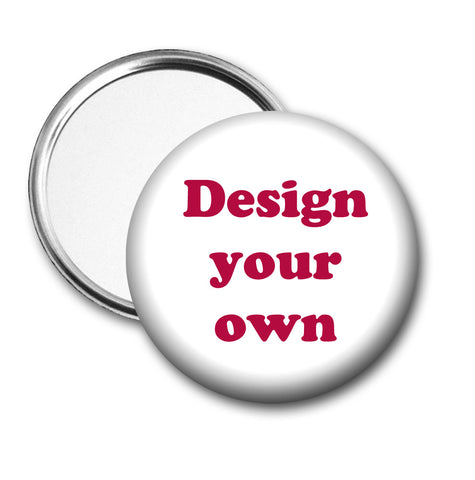 Design Your Own Pocket Mirror or Compact Mirror - 15%off when you order 100+ See coupon code below - Designs by Dee's Hands  - 4