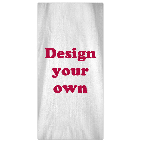 Design Your Own Beach Towel - Designs by Dee's Hands  - 1