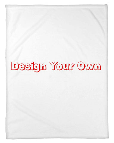 Design Your Own Fleece Blanket - Send Us Your Image - NEW LOWER PRICING!!! - Designs by Dee's Hands  - 1
