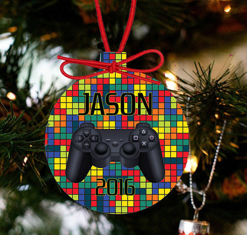 Gamer Christmas Personalized Christmas - Designs by Dee's Hands  - 1