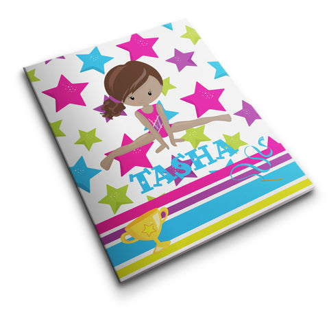 Personalized Pocket Folder Gymnastics - Designs by Dee's Hands  - 1