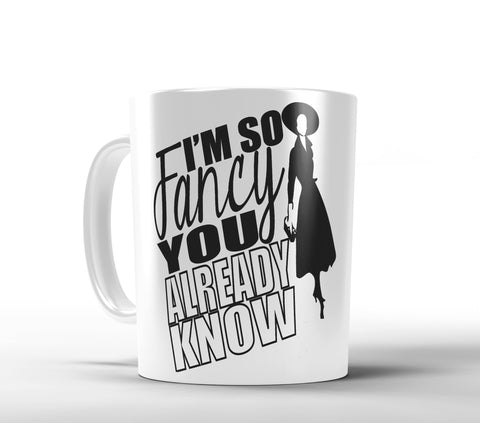 I'm so Fancy, Gold or Pink Metallic Mug - Designs by Dee's Hands  - 3
