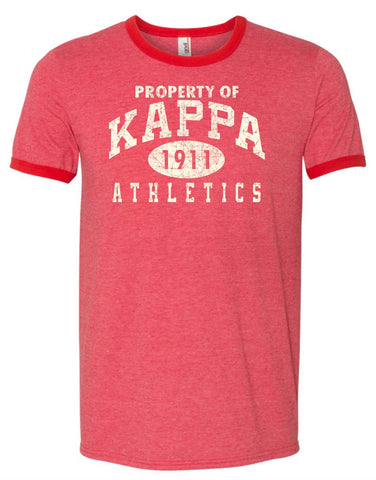 Yo! Apparel - Kappa Athletics Kappa Alpha Psi Mens TShirt or Tank