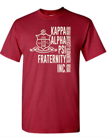 Yo! Apparel - Established Kappa Alpha Psi Men's TShirt - Greek Letters & Name Mens Tee