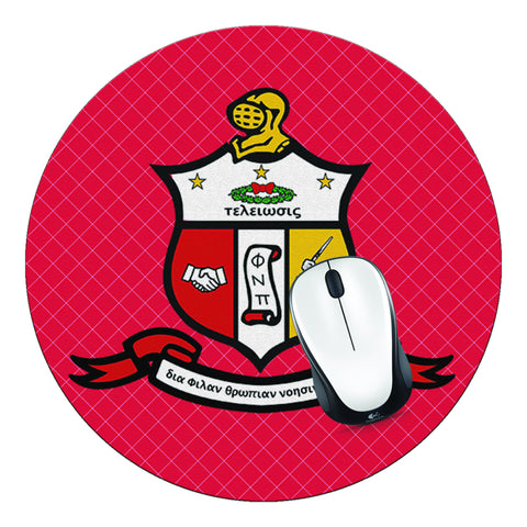 Kappa Alpha Psi Mouse Pad, Kappa Mouse Pad - Designs by Dee's Hands
