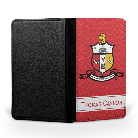 Yo! Travel - Personalized Passport Cover - Kappa Alpha Psi Fraternity