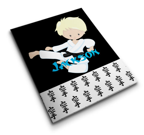 Personalized Pocket Folder Karate Kid - Designs by Dee's Hands  - 1