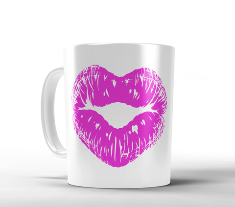 Lipstick Coffee Mug - Choose your color - Designs by Dee's Hands  - 1