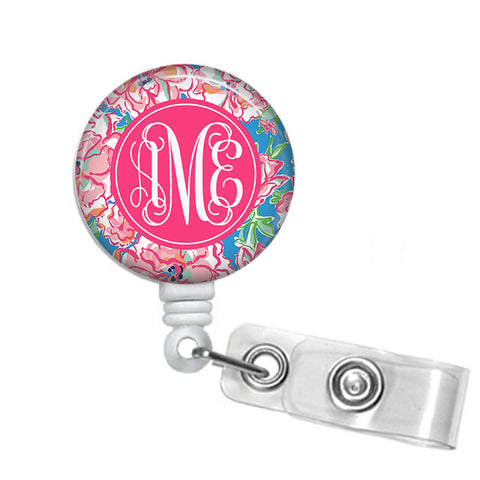 Badge Holder, Retractable Badge Reel - Lucky Charms - Designs by Dee's Hands  - 1