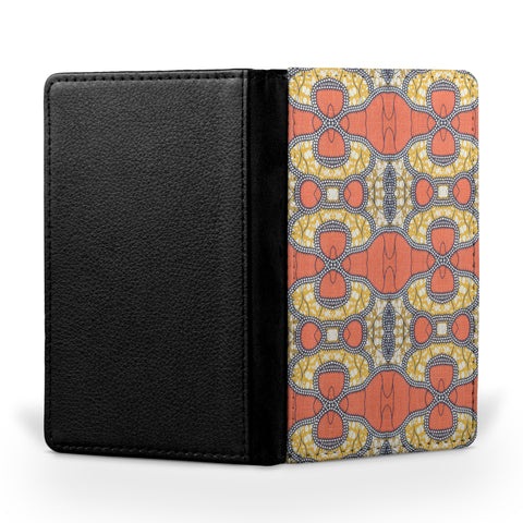 Personalized Passport Cover, Passport Holder - African Print