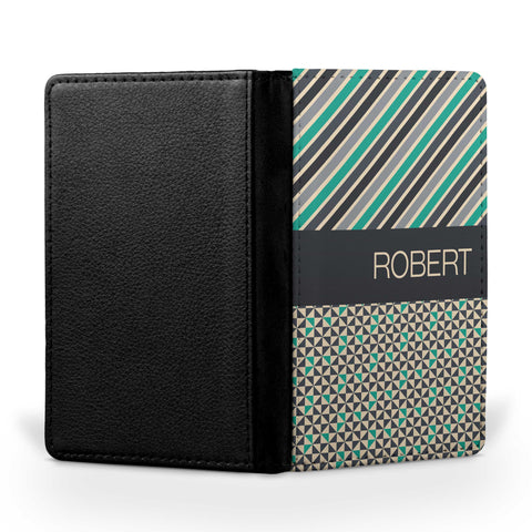 Personalized Passport Cover, Passport Holder - Male Mixed
