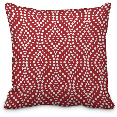 Moroccan  Spice Throw Pillow - Designs by Dee's Hands  - 1