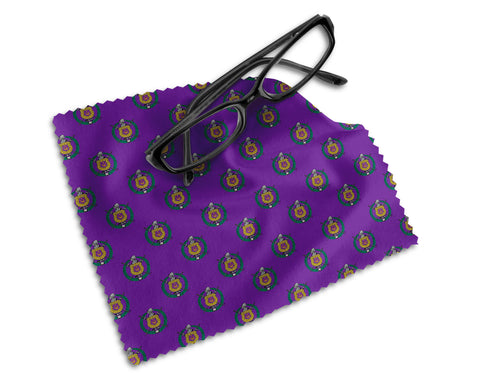 RQQ! Office - Lens Cloth - Omega Psi Phi Monogram