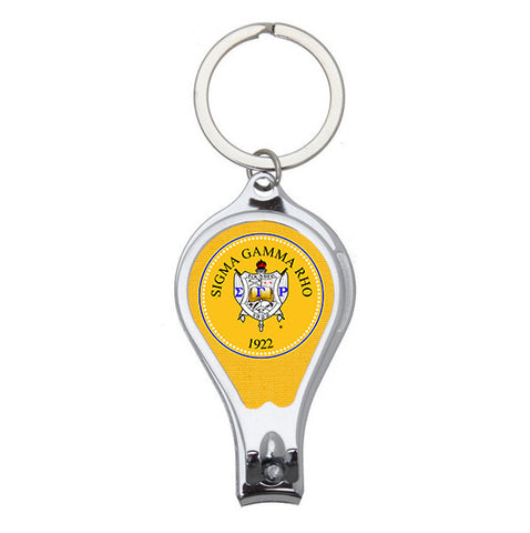 Sigma Gamma Rho 3-in-1 Utility Keychain - Designs by Dee's Hands  - 1