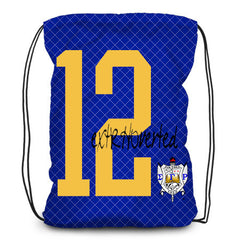 Drawstring backpack, tote - Sorority, Sigma Gamma Rho - Designs by Dee's Hands  - 2