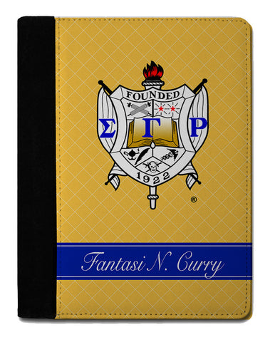 SGRho Personalized Padfolio Notebook - Designs by Dee's Hands  - 1