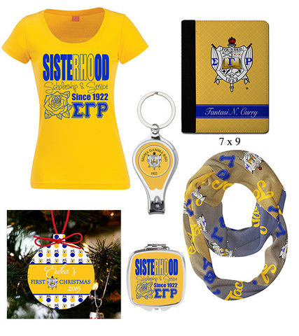 Gift Package - Sigma Gamma Rho I - Designs by Dee's Hands