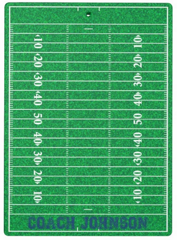 Clipboard Dry Erase Board - Football Field - Designs by Dee's Hands  - 3