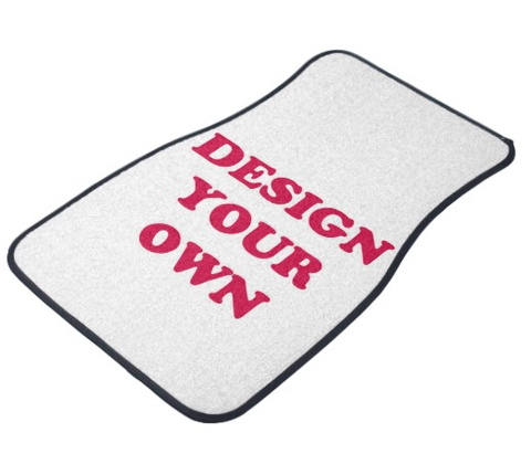 Design Your Own Car mats - Designs by Dee's Hands  - 1