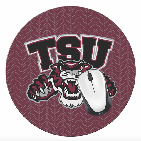 TSU! Office - Texas Southern University Mouse Pad, TSU Mouse Pad - TSU Tigers