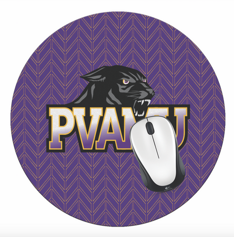 PVAM! Office - Prairie View A&M University Mouse Pad, PVAMU Mouse Pad - PVAM Cougar