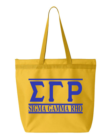 SGRho Letters & Name Simple Tote - Designs by Dee's Hands