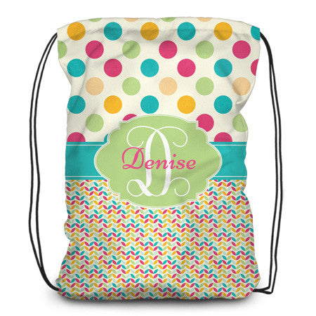 Drawstring backpack, tote - Summer time - Designs by Dee's Hands