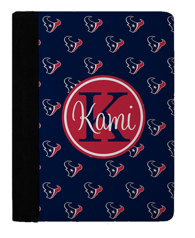 Personalized Padfolio Notebook, Texans Fan - Designs by Dee's Hands  - 1
