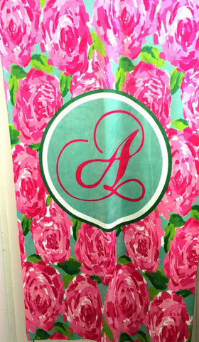 Personalized Beach Towel, First Impressions Monogrammed Towel - Designs by Dee's Hands  - 2