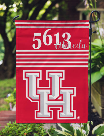 Coogs! Home - Garden Flag - Personalized University of Houston Yard Flag