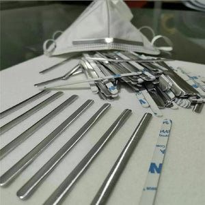 New 100 pcs Aluminum Strip Nose Bridge for diy craft making supply