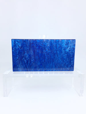 Mother of Pearl Acrylic Box Clutch-Handbags & Purses - MILANBLOCKS