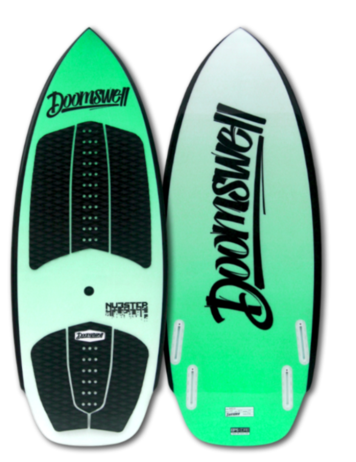 Doomswell Nubstep Wakesurf Board Green