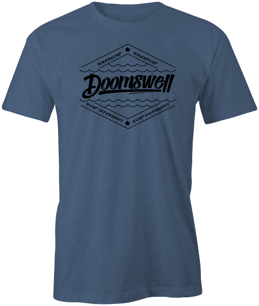 Doomswell T-Shirts Small / Indigo Blue T-shirt: Tangle Indigo