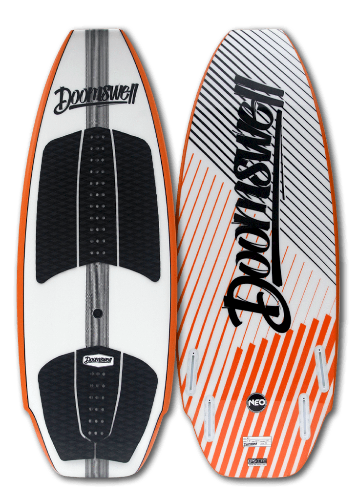 "Doomswell Wakesurf 4'-6"" Neo - Orange"